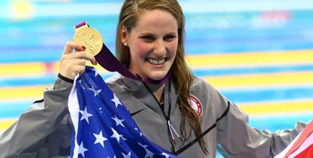 Missy Franklin 2012 Olympic Gold