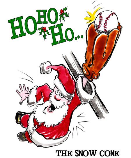 baseball christmas cards - Baseball Christmas