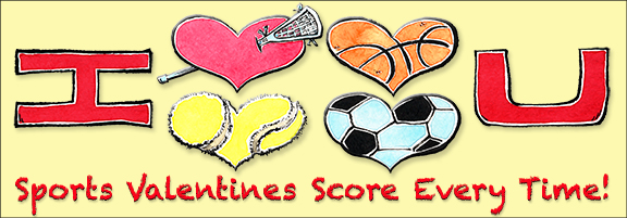 Valentines Day – Sports Valentines Day Cards
